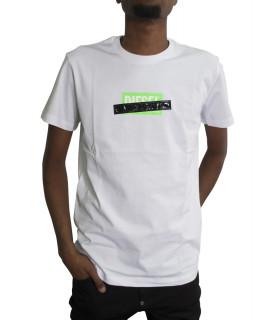 Tshirt Diesel blanc - 00SEEB 0BASU DIEGO
