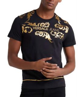 Tshirt noir VERSACE JEANS réf:B3GTA72I slim