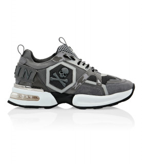 Baskets Philipp Plein GRIS - RUNNER