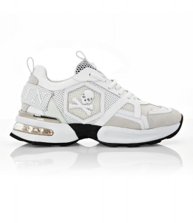 Baskets Philipp Plein BLANC - RUNNER