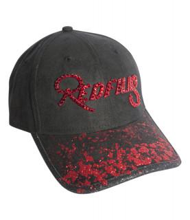 Casquette Redfills noir rouge - RUBIS RAIN