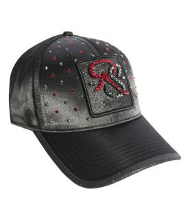 Casquette Redfills noir - SATIN RUBY DELUXE