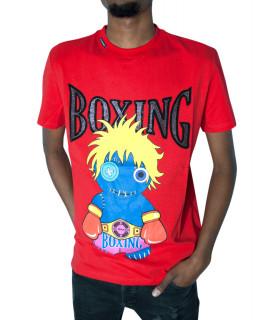 Tshirt My brand rouge - VOODOO BOXING