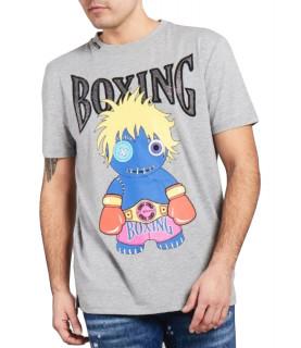 Tshirt My brand gris - VOODOO BOXING