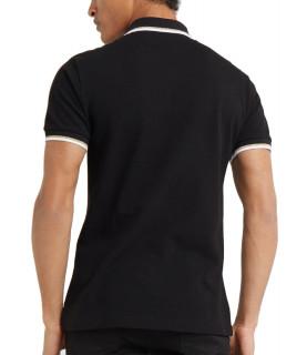 Polo Versace Jeans noir style baroque réf: B3GTB7P4
