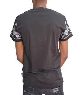 Tshirt Versace Jeans Couture noir - B3GZA7PH - ZUP600 SLIM BANDANA