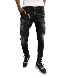 Jeans Boragio noir - 7568
