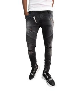 Jeans Boragio noir - 7572