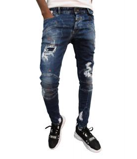 Jeans Boragio bleu - 7563