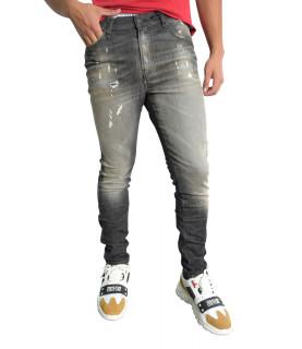 Jeans Diesel gris - D-REEFT-Y-T A01458 - 009FX