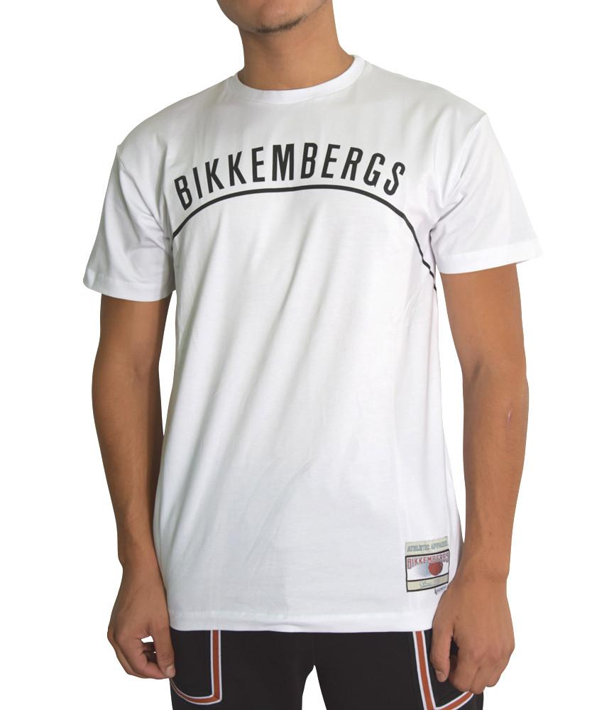 TSHIRT BIKKEMBERGS BLANC - CZ1280084