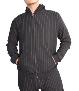 Sweat Bikkembergs zippé noir - CZ1280131
