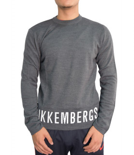 Pull bikkembergs gris - MZ12250018