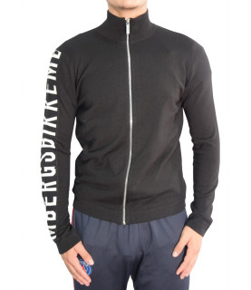 Sweat Bikkembergs zippé noir - MZ1250057