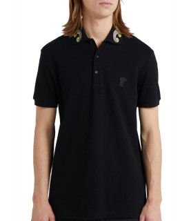 Polo Versace Collection noir - réf: V800543N
