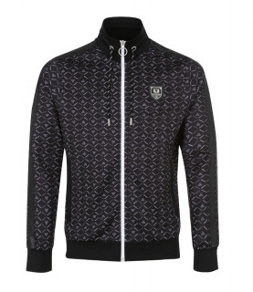 Sweat zippé Horspist - LANCA - M306 MONOGRAM