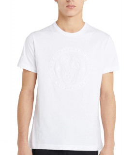 Tshirt Versace Jeans blanc - B3GTB72E - RUBB 34 SLIM MC