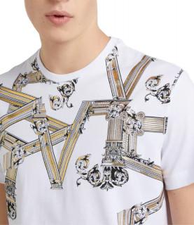 T-shirt Versace Jeans blanc - B3GTB72D - PRINT 15 REGULAR MC
