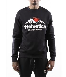 Sweat Helvetica noir - AVRON