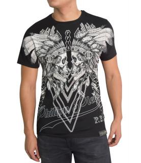 T-shirt Philipp Plein noir - MTK0033 PJY002N