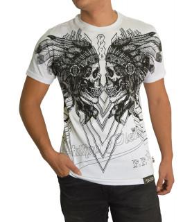 T-shirt Philipp Plein blanc - MTK0033 PJY002N