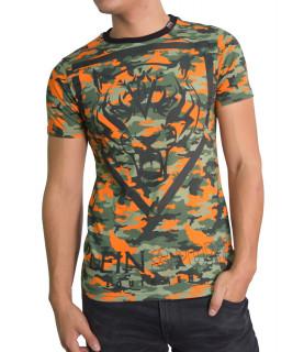 Tshirt Plein Sport camouflage - MTK0565 SJY001N