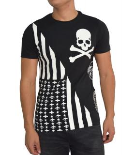Tshirt Philip Plein noir - GO HOME FW16HM340986