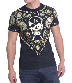 Tshirt Philipp Plein noir - HM341065