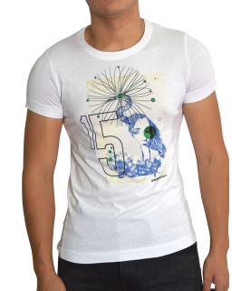 Tshirt Bikkembergs blanc - CZ1260202