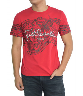Tshirt Just Cavalli rouge - S01GC0510