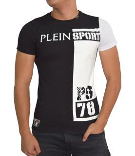 Tshirt Plein Sport noir - GUERRERO MTK0590 SJ001N