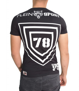 Tshirt Plein Sport noir - MTK0556 SJ001N