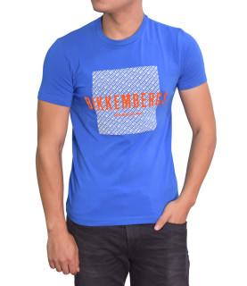 Tshirt Bikkembegs bleu - CZ1280319