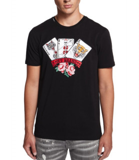 T-shirt My Brand noir - CARNIVAL CARDS