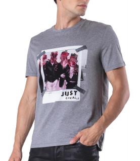 Tshirt Just Cavalli gris- S03GC0498