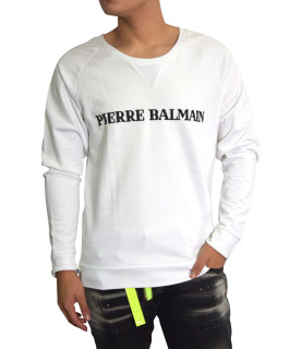 Sweat Pierre Balmin blanc - HP63805/1380