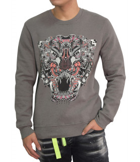 Sweat Just Cavalli gris - S01GP0066