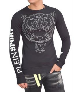 Sweat Plein Sport noir - MTC0632 SJY001N