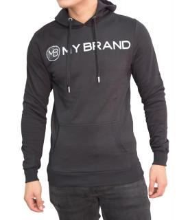 Sweat My Brand noir - BRANDING LOGO HOODIE