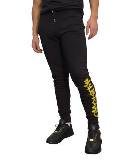 Jogging My Brand noir - STONES MYBRAND JOGGING PA