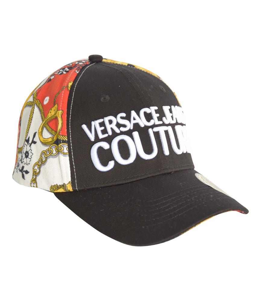 Casquette Versace Jeans Couture noir - E8GZAK11 - LINEA MAN CAP DIS. 6