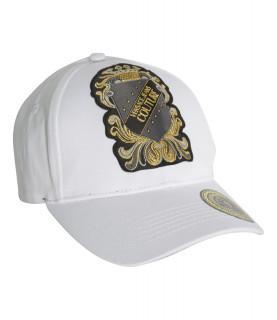 Casquette Versace Jeans Couture blanc - E8GZBK18 LINEA MAN CAP DIS. 18