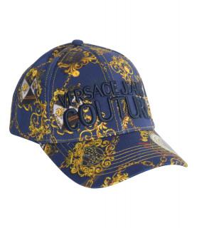 Casquette Versace Jeans Couture bleu - E8GZBK16 LINEA MAN CAP DIS. 13