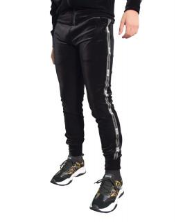 Jogging Versace Jeans couture noir satiné - A2GZB1F4 - ZUM314 basic TAPE LOGO