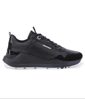 Sneakers Horspist Concorde Cuir Noir