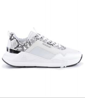 Sneakers Horspist - Concorde Python Blanc