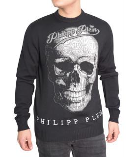 Pull Philipp Plein noir - FW16 HM624594 EXTREME