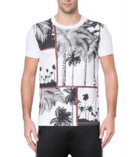 T-shirt Bikkemberg blanc réf - C4051E7E1906A00