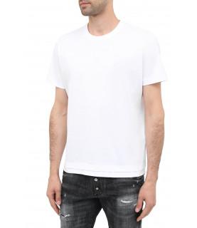 Tshirt DIESEL blanc - A00400 0HAYU 100
