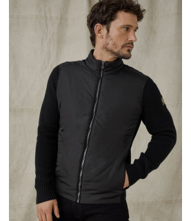 Sweat zippé BELSTAFF noir - ABBOTT ZIP CARDIGAN
